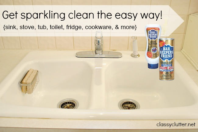 Spring Cleaning My Secret Weapon For Your Sink Toilet And Bathtub Classy Clutter