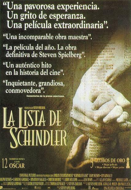 Frases Y Diálogos Del Cine La Lista De Shindler Steven