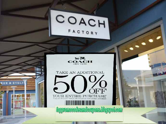 Free Promo Codes and Coupons 2018: Coach Coupons