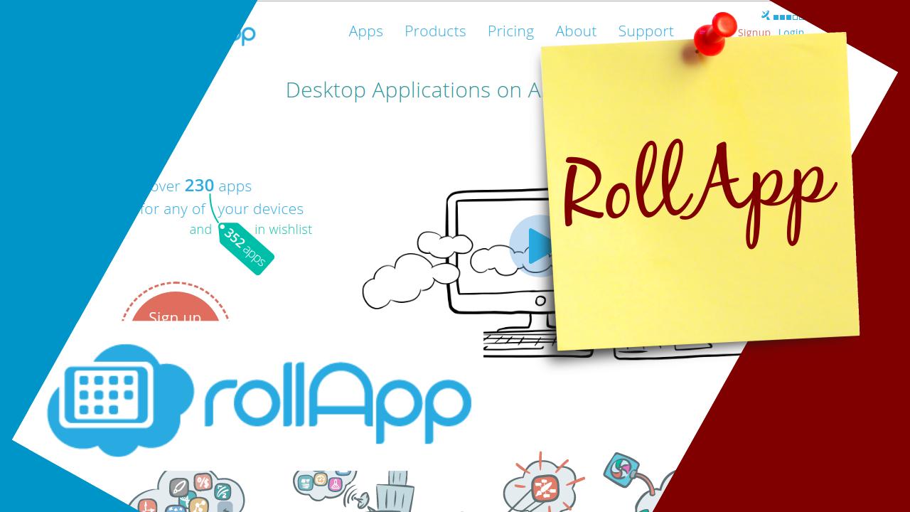 Imagem de capa do post: RollApp - Rodando aplicações no navegador