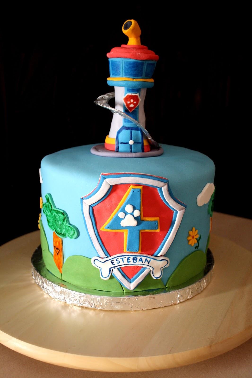 Fabuleux Gâteau Paw Patrol la Pat' Patrouille | Créations Cake Design par  PB99