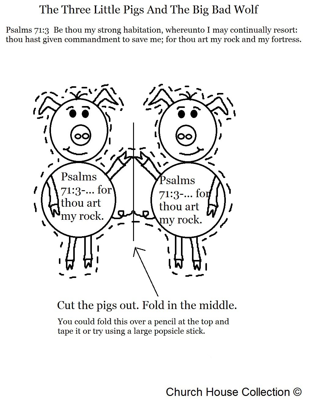 Church House Collection Blog The Three Little Pigs And The Big – Three Little Pigs Worksheets Kindergarten