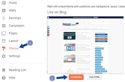 Adding CSS Codes to Blogger