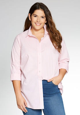 Blusas de botones para Gorditas