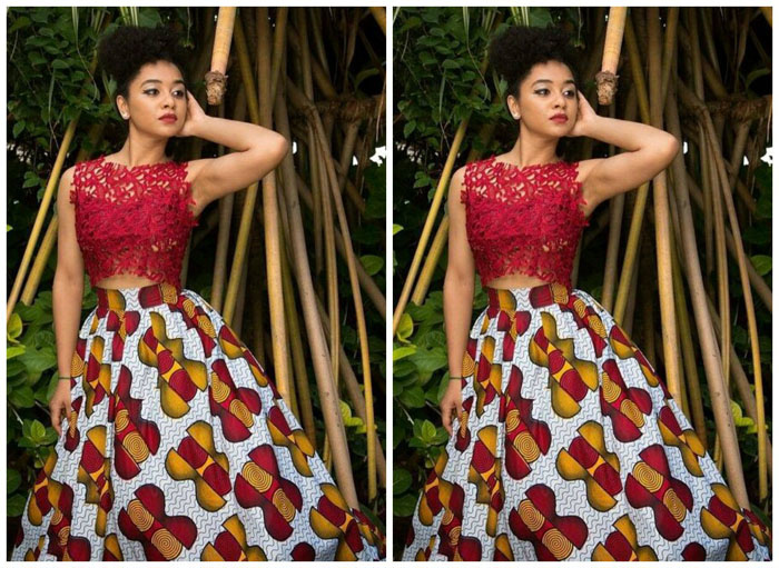 Latest Ankara Pleated skirt styles (3)