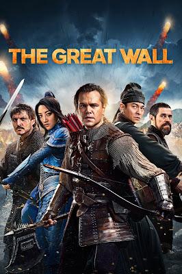 wielki mur plakat recenzja filmu matt damon pedro pascal