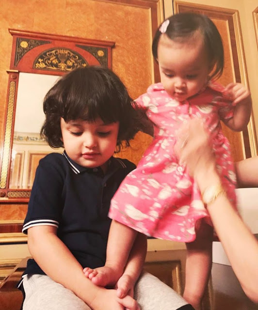 LOOK: Celebrity Kids Zion and Zia Meet Again! Too Cute!