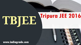 Tripura JEE 2016 Application Form