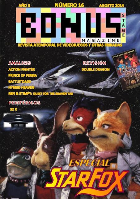 Bonus Stage Magazine #16 Especial Starfox (16)