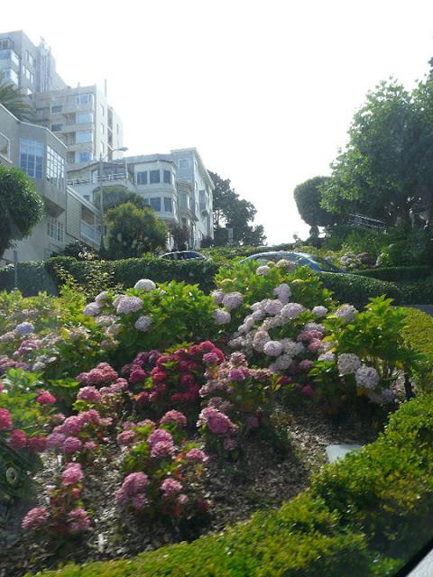 La Lombard street San Francisco