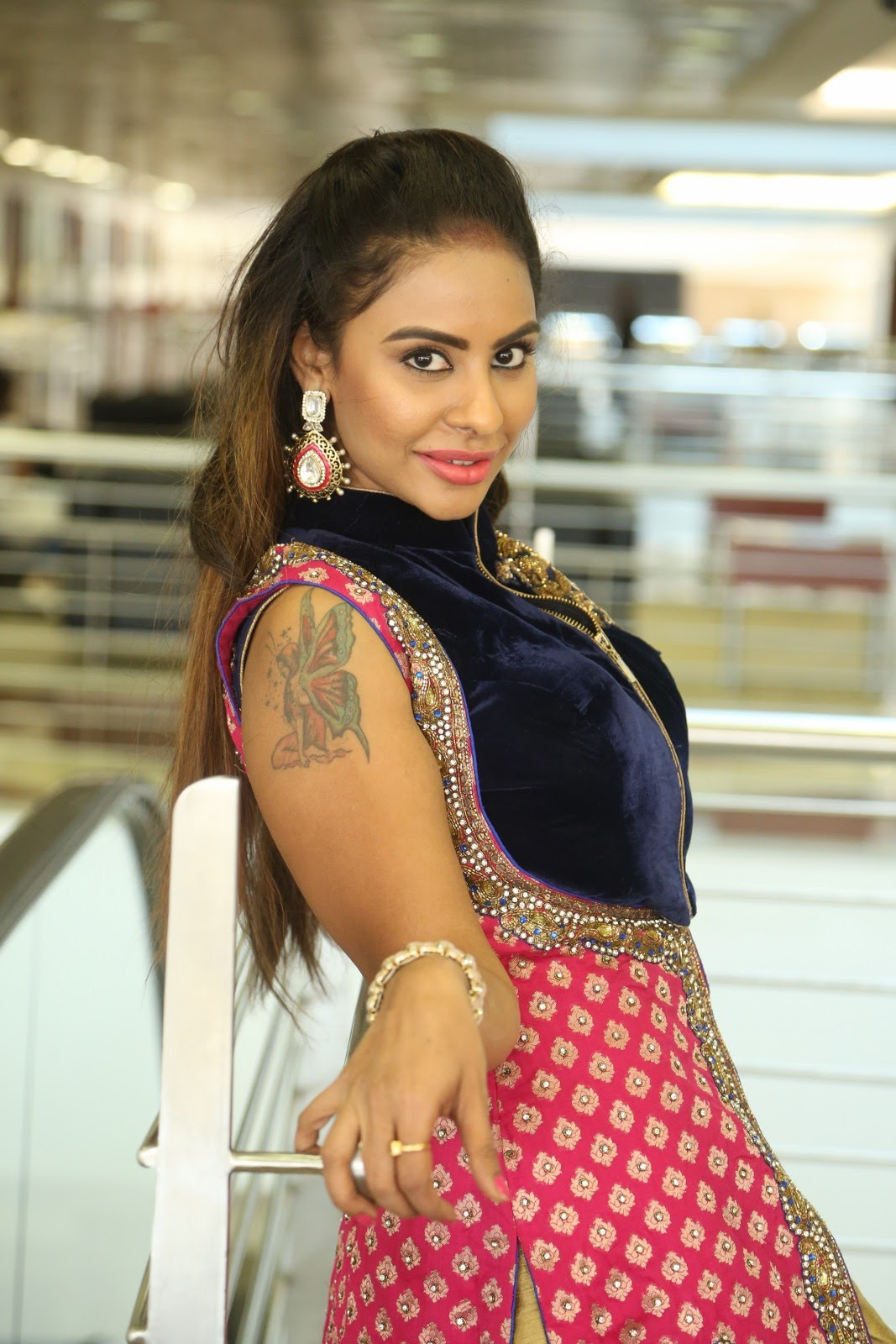Srilekha reddy new glam photos-HQ-Photo-15