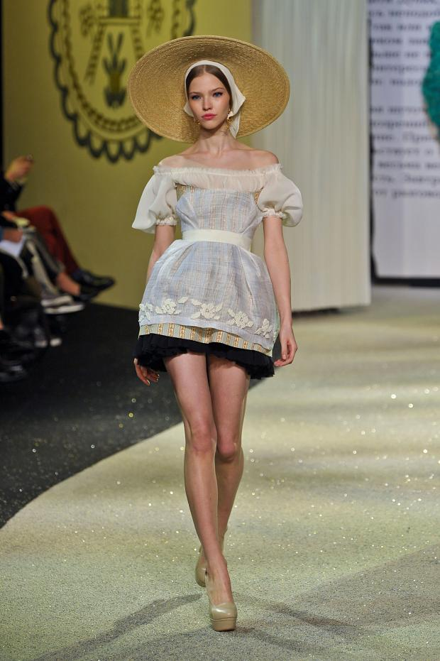 Ulyana Sergeenko Haute Couture Spring-Summer 2013