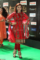 Mannara Chopra and Khushbu in Red at IIFA Utsavam Awards 2017  Day 2  Exclusive 03.JPG