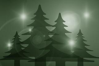 alberi di natale verdi foto belle