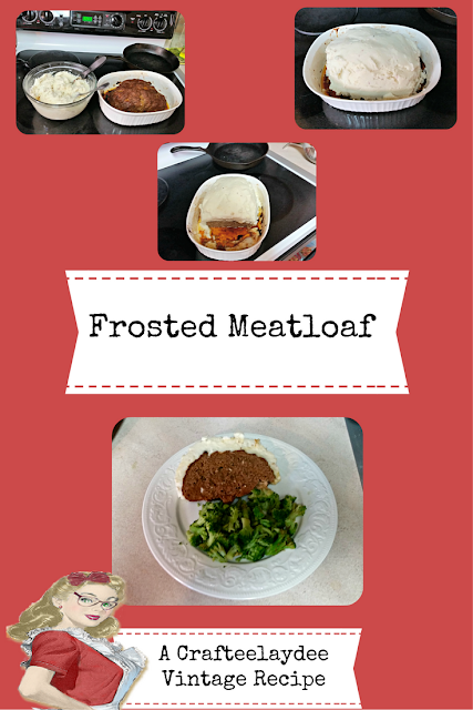 Frosted Meatloaf Recipe
