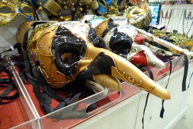 mascaras carnaval veneza2 - Souvenir em Roma