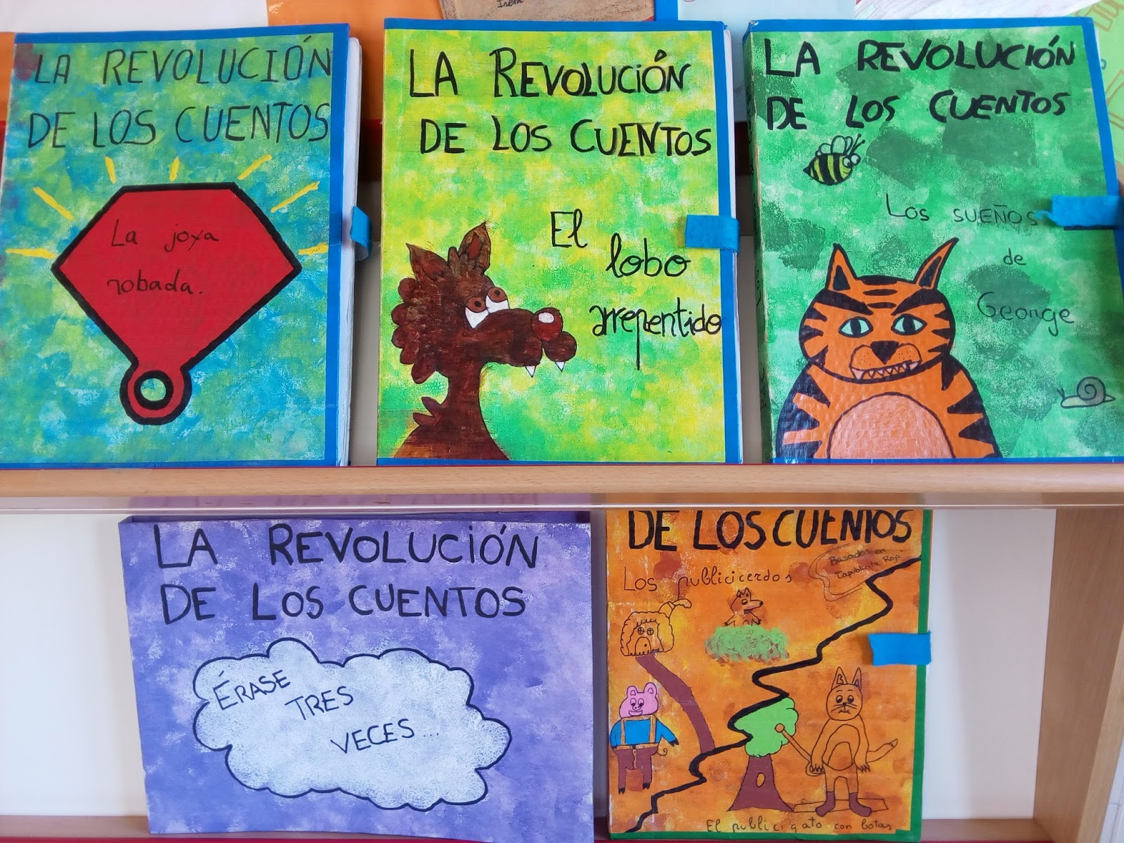 El cole de MTB: Ya son cinco revoluciones de los cuentos