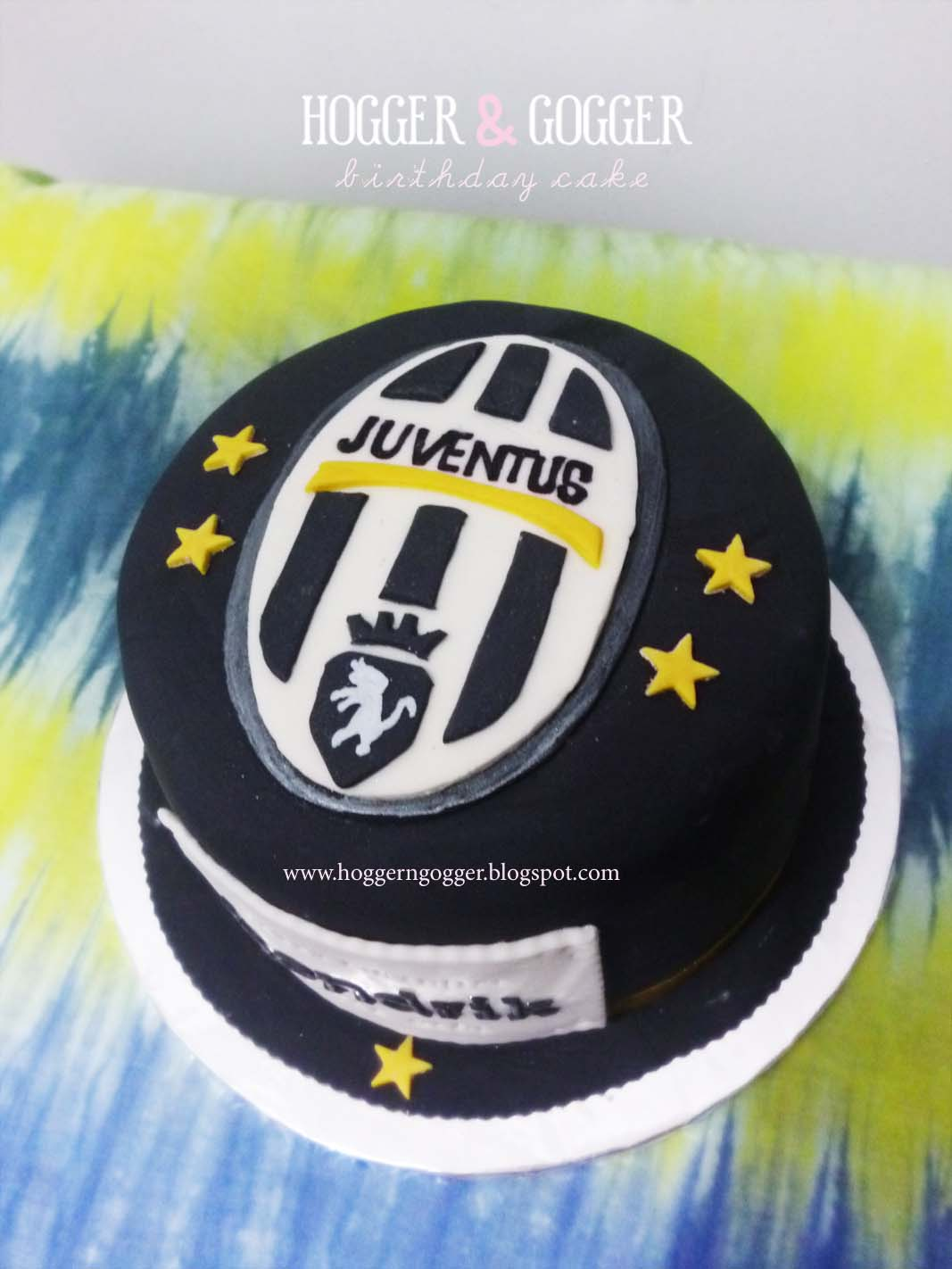 Hogger Amp Gogger Juventus Cake