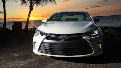 toyota camry 2017 front view