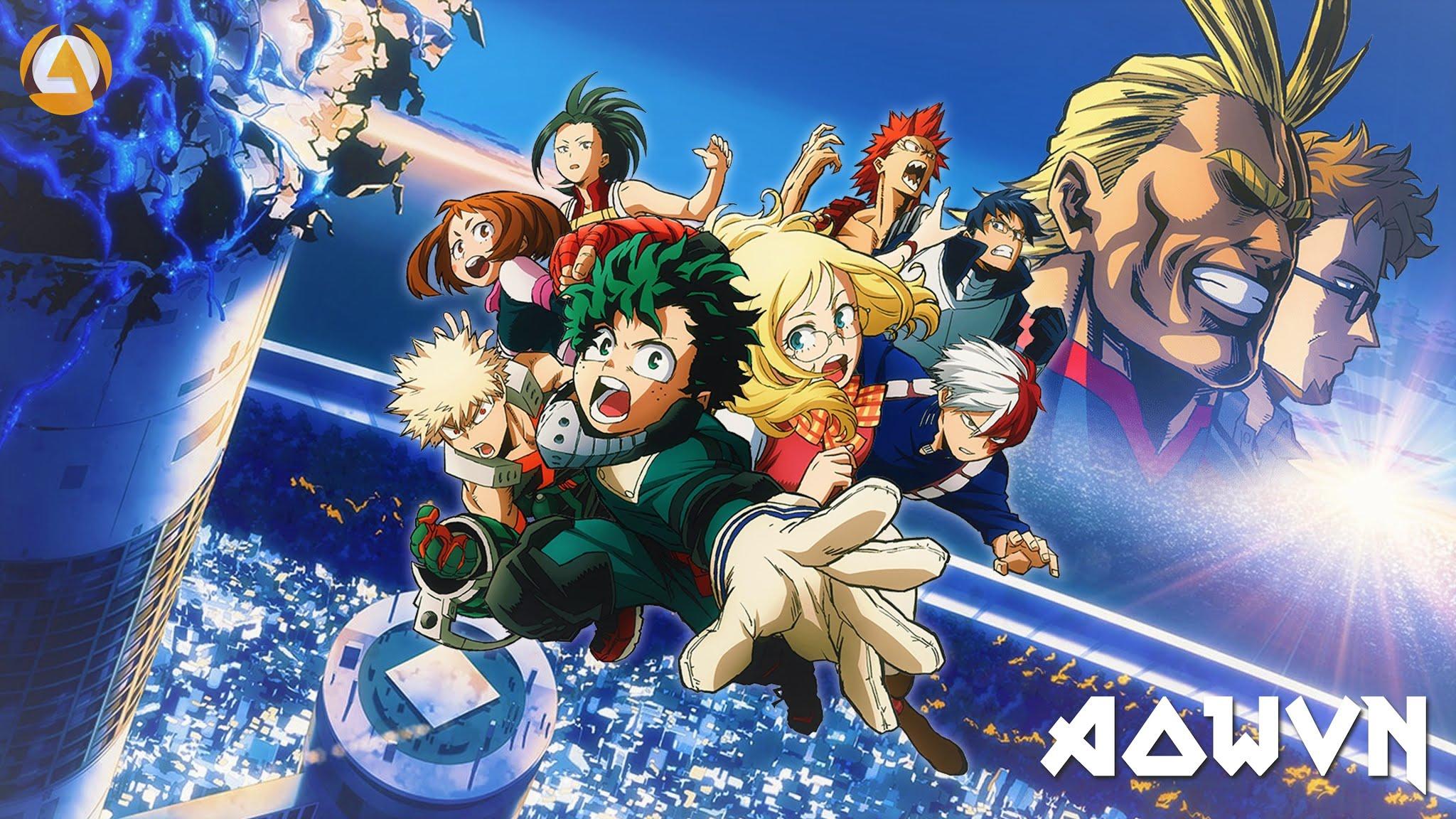 boku - [ Anime Mp4 ] Boku no Hero Academia The Movie- Futari no Hero ( HD 720 ) | Vietsub