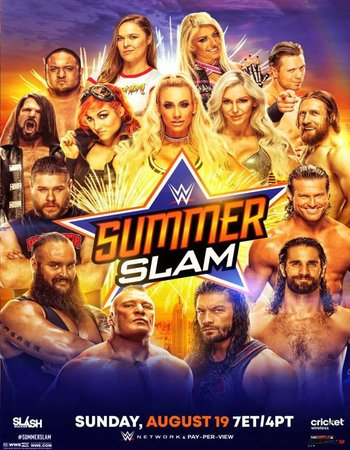 WWE SummerSlam 2018 PPV WEBRip Full Show Download