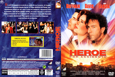 Carátula: Héroe por accidente (1992) Hero (Accidental hero)