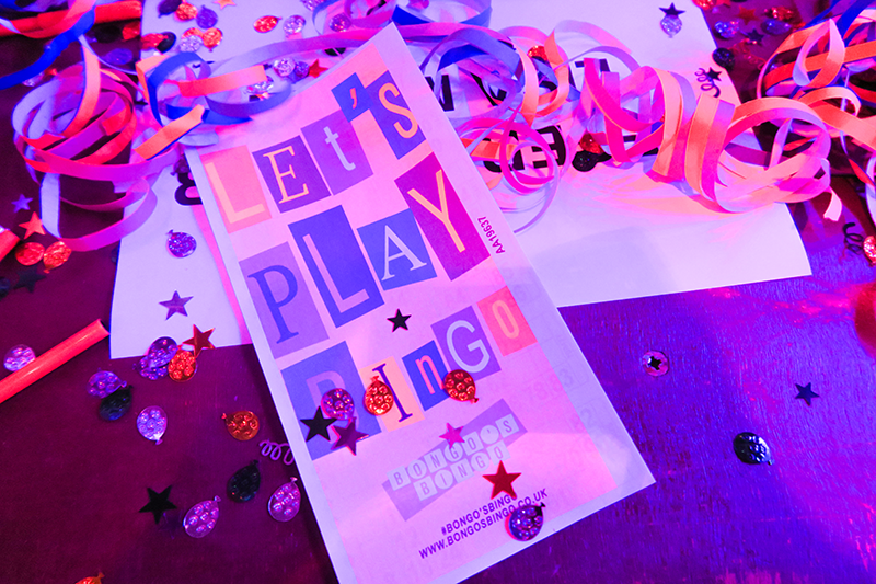 Bongo's Bingo Review Glasgow | Colours and Carousels - Scottish Lifestyle, Beauty and Fashion blog