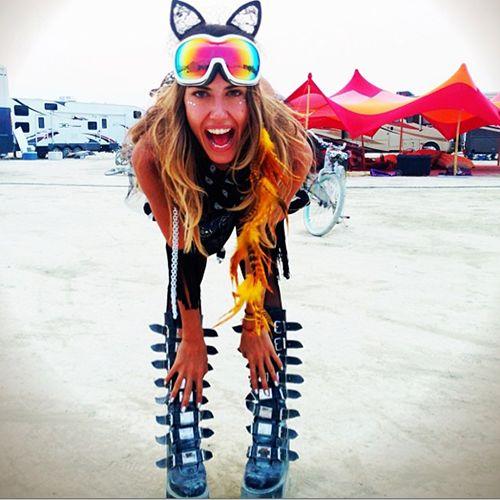 Burning Man Naked Ladies