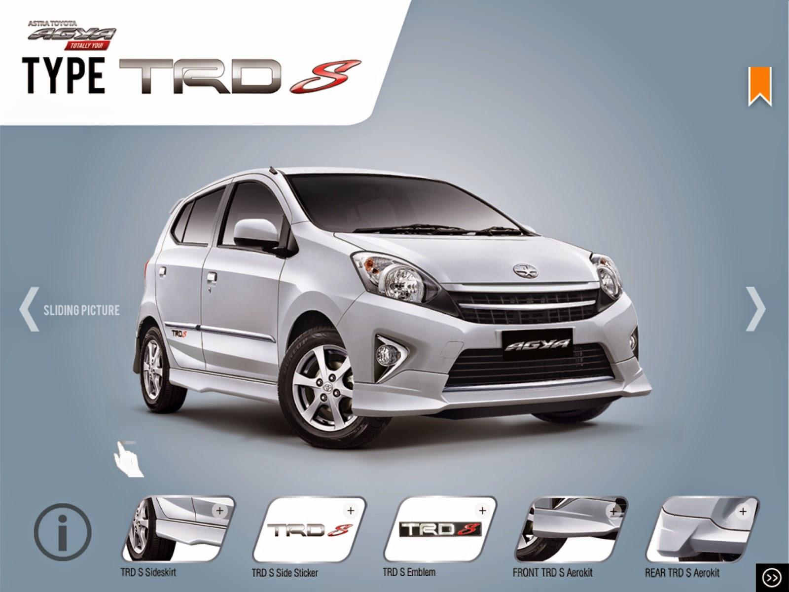 Spesifikasi New Agya Trd Perbedaan All Alphard X Dan G Pt Liek Motor Walikota Mustajab Surabaya Terkenal Murahnya