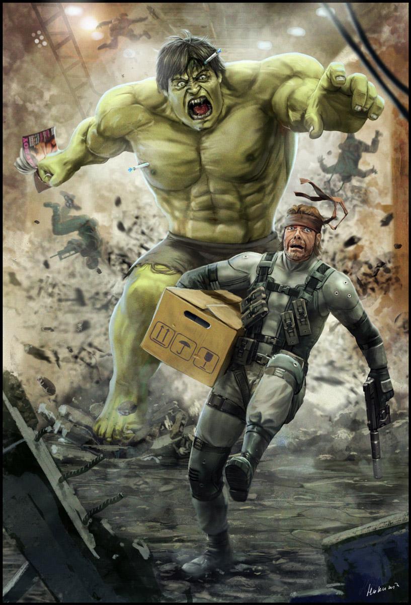 hulk vs snake