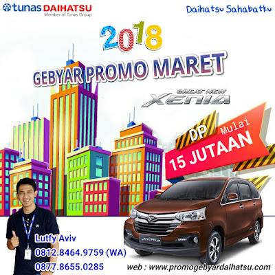 Promo Daihatsu Xenia Maret 2018 Jakarta Bekasi
