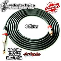 Kabel Gitar 4 Meter Jack Akai Mono To RCA