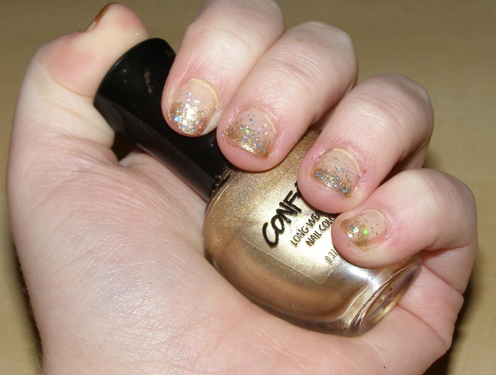 Alluring Alyss Beauty *:・゚✧: Glitter Gradient Nail Art~!