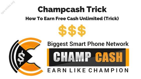 champcash-trick-cash-wikipedia-earn-money-free-unlimited