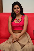 Akshita super cute Pink Choli at south indian thalis and filmy breakfast in Filmy Junction inaguration by Gopichand ~  Exclusive 087.JPG