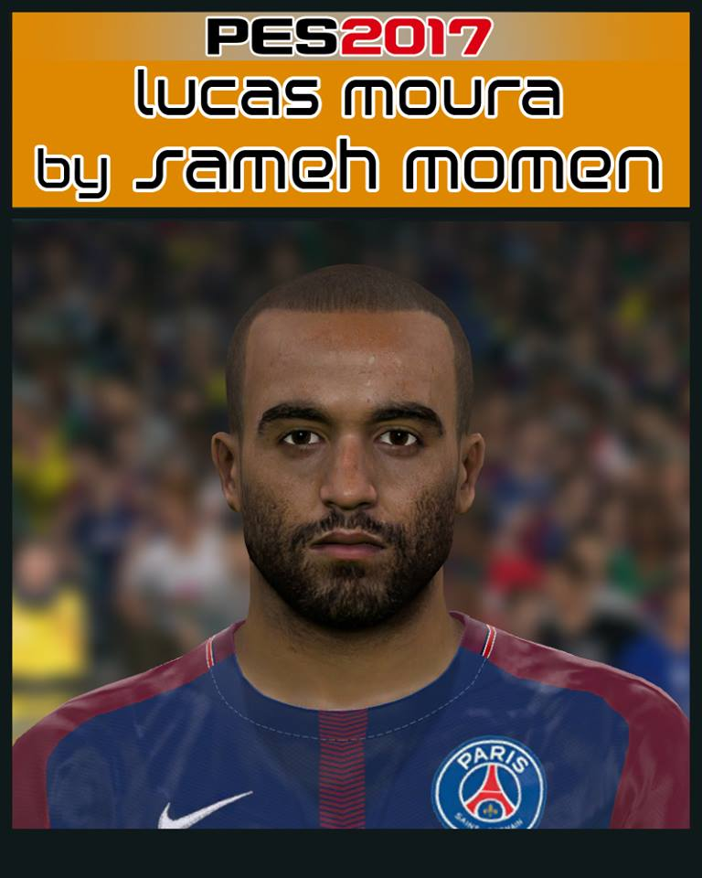 Pes 2019 Faces Lucas Moura By Shenawy: Pes-modif: PES 2017 Lucas Moura Face By Sameh Momen