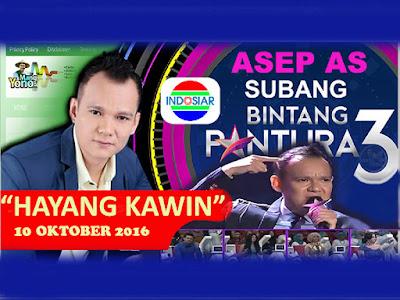 DOWNLOAD MP3 LAGU HAYANG KAWIN ASEP AS BINTANG PANTURA 3  ... BIAR BISA DISIMPAN DI HP SOBAT ...