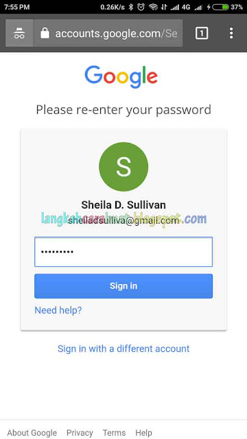 Cara Mengganti Password Akun Google | Akun Gmail
