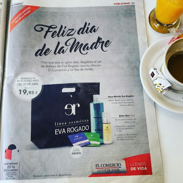 Eva Rogado- Campaña Comercio La Voz de Aviles