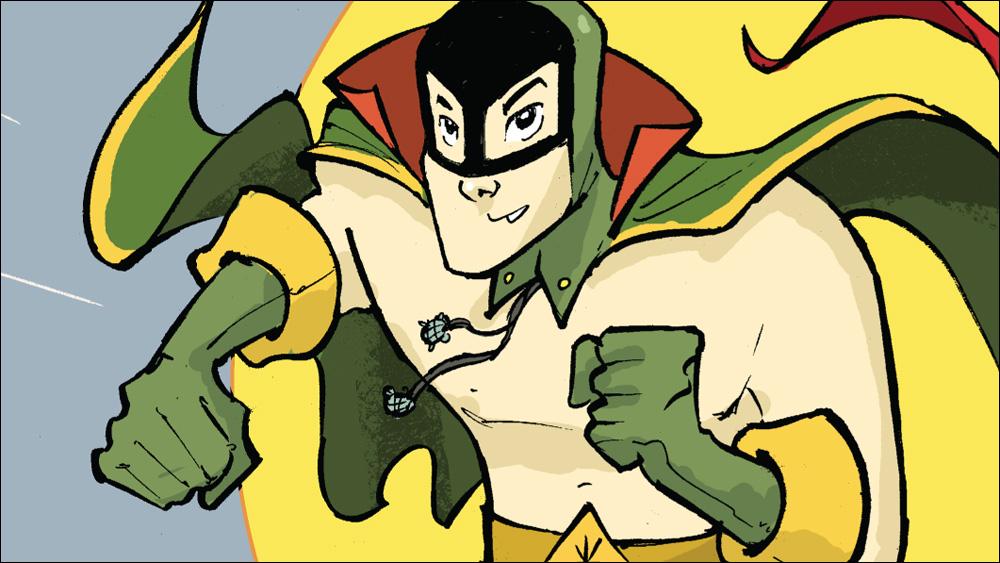 The first Asian American superhero returns in 'Shadow Hero Comics' #1