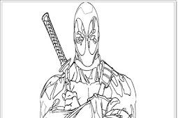 Ausmalbilder zum Ausdrucken: Ausmalbilder Deadpool zum Ausdrucken