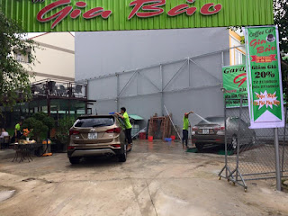 kinh doanh mở tiệm rửa xe
