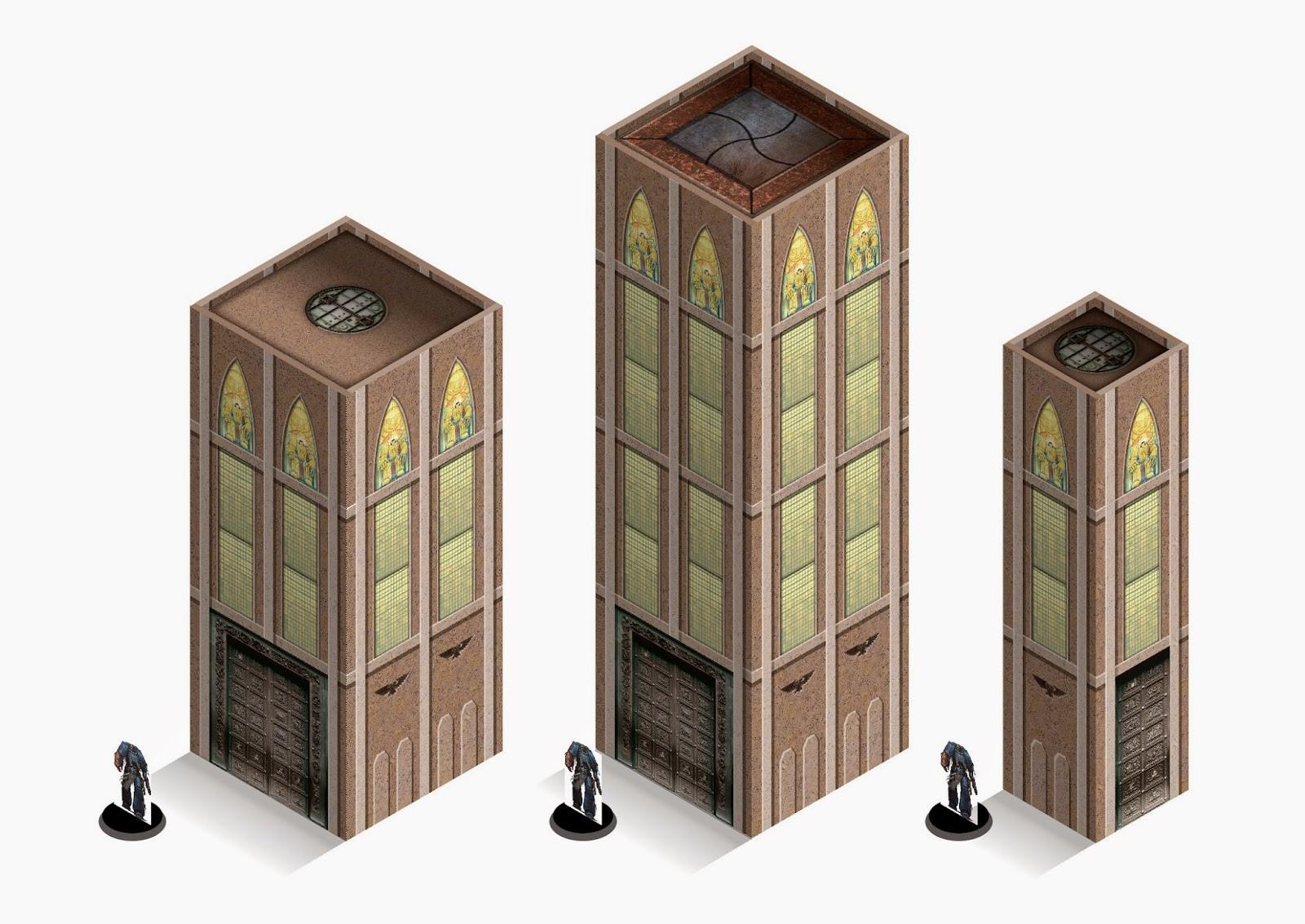 40k Building Templates