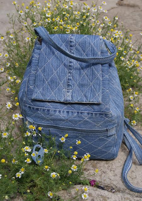 джинсовый рюкзак, сумки из текстиля, шью рюкзак, рюкзак из денима