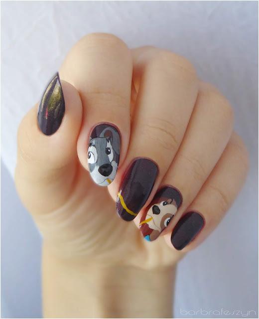 paznokcie Zakochany kundel