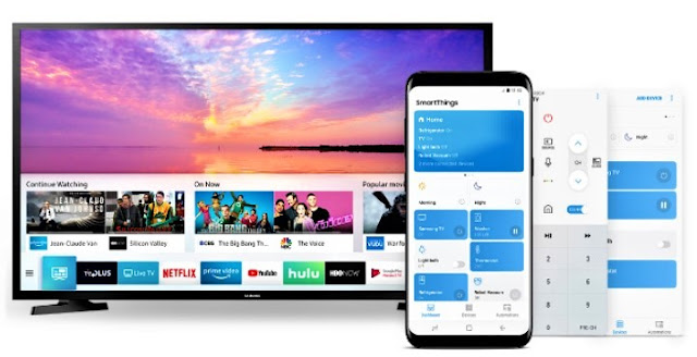 SmartThings App Samsung N4300 HD Smart TV 32 Inch