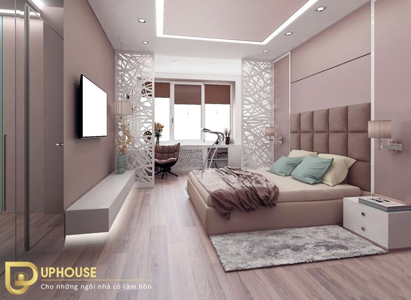 Thiết kế phòng ngủ tân cổ điển 08