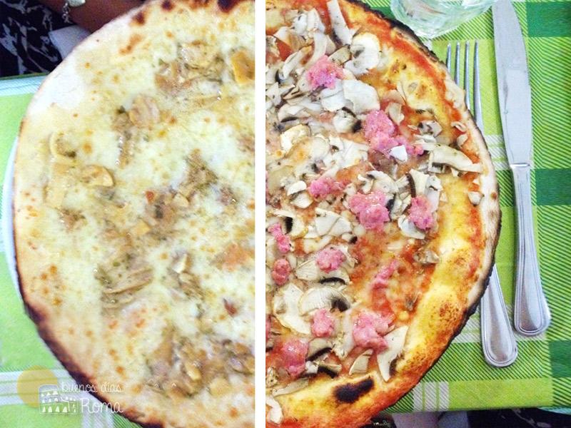 Guía pizzas italianas