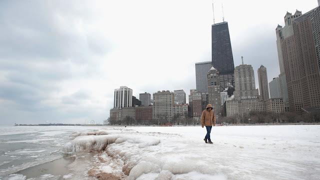 Frío sin precedentes en EE.UU.: Advierten que la piel se congela en 30 minutos en la calle