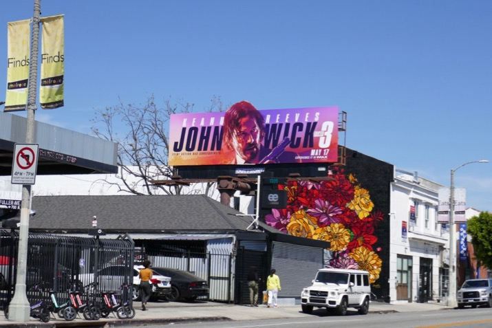 John Wick 3 billboard